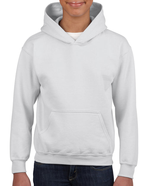 18500B Gildan® Heavy Blend™  Youth Hooded Sweatshirt