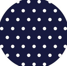 "Ecovinyl Vent Hole Navy Blue 20"" wide"