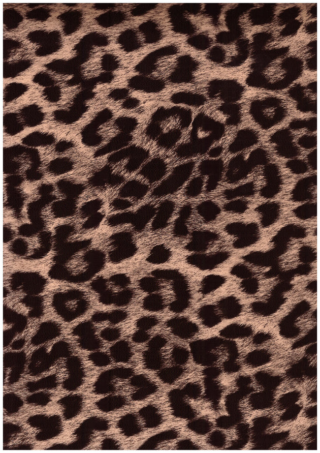 "Ecovinyl Pattern Foil Cheetah Gold 20"" wide"