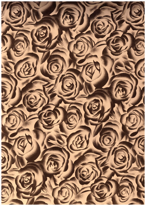 "Ecovinyl Pattern Foil Rose Gold 20"" wide"