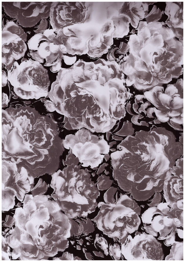 "Ecovinyl Pattern Foil Flower-C 20"" wide"