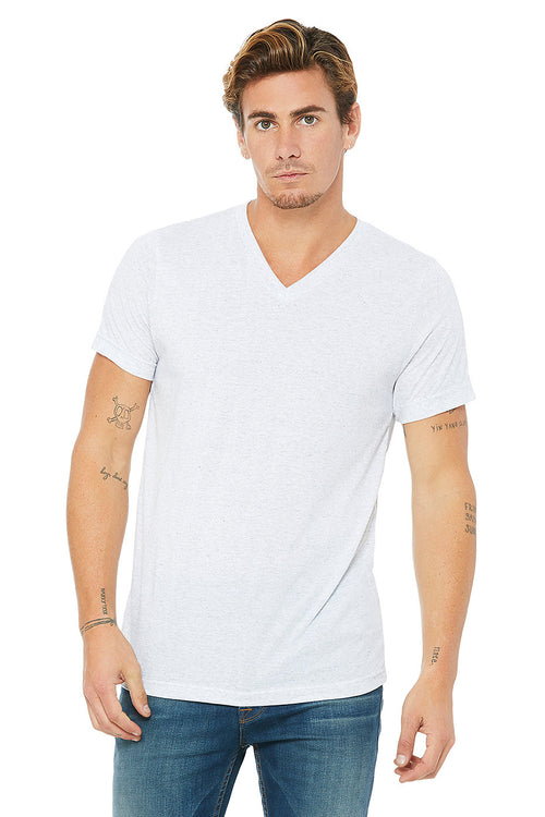 3005 BELLA UNISEX JERSEY SHORT SLEEVE V-NECK TEE (2XL - 3XL)