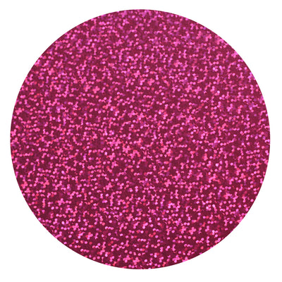 "Ecovinyl Hologram Fuschia 20"" wide"