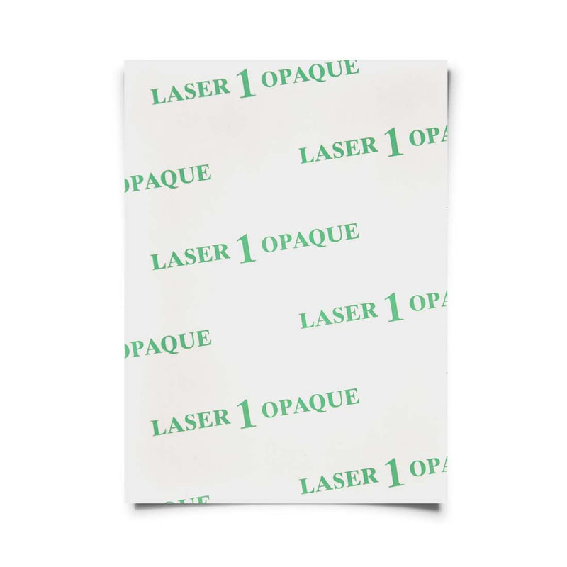 Laser Heat Transfer Paper - Laser 1 Opaque
