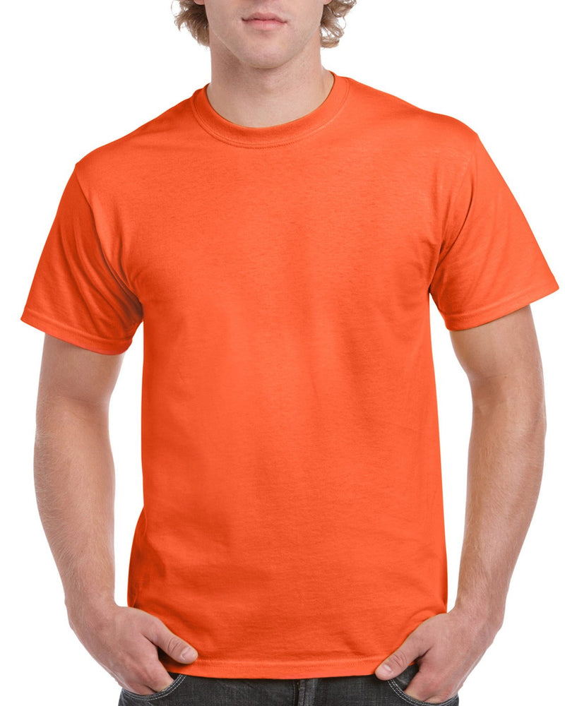 Orange Gildan Ultra Cotton Adult T-Shirt