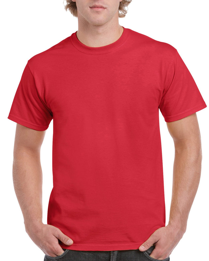Red Cotton Adult T-Shirt