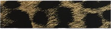 "Ecovinyl Pattern Foil Cheetah-Gold 20"" wide"