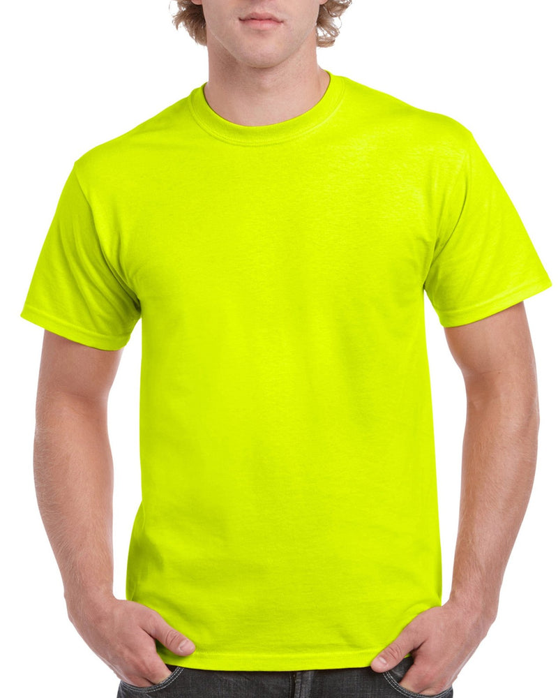 Safety Green Cotton Adult T-Shirt