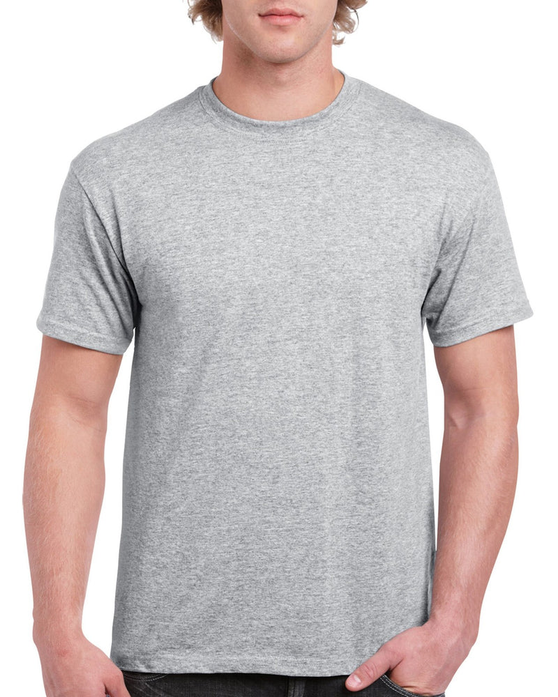 Sports Grey Cotton Adult T-Shirt
