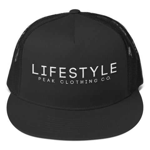 Lifestyle // Trucker Cap (White Print)