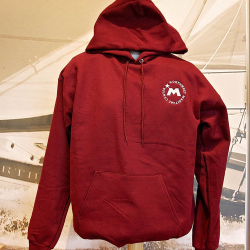 Northwest Maritime Center Logo Pullover Hooded Sweatshirt