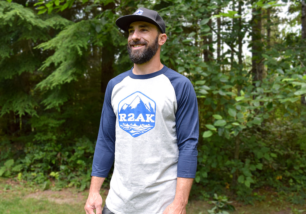 Race to Alaska Baseball T-Shirt