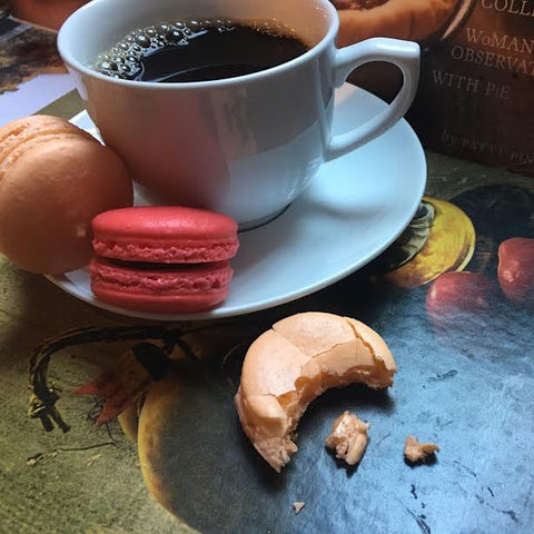 Wine-Infused French Macarons