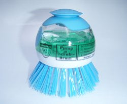 Pump n Scrub Brush   (FREE POSTAGE  + Next Day Shipping)