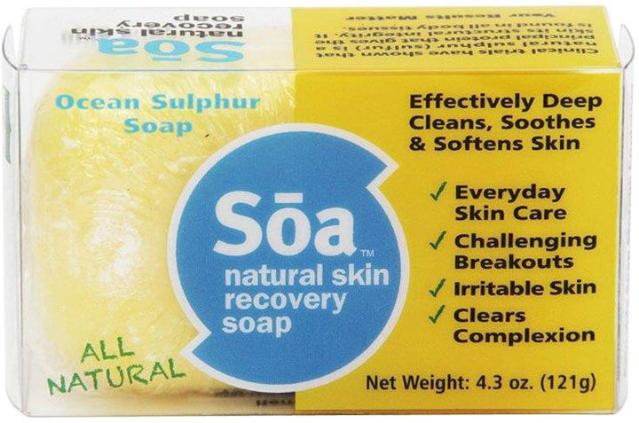 SOA Skin Recovery Soap (For People)   (FREE POSTAGE  + Next Day Shipping)