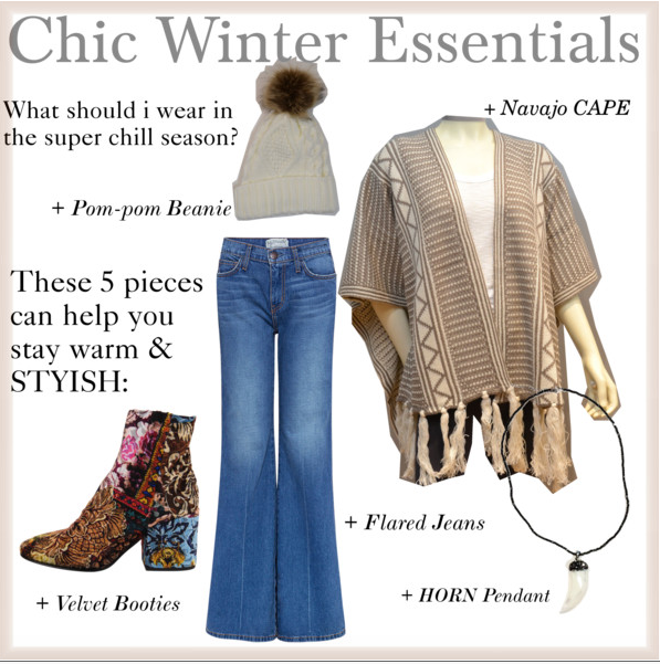 Top 5 pieces to help you stay Warm & Stylish!