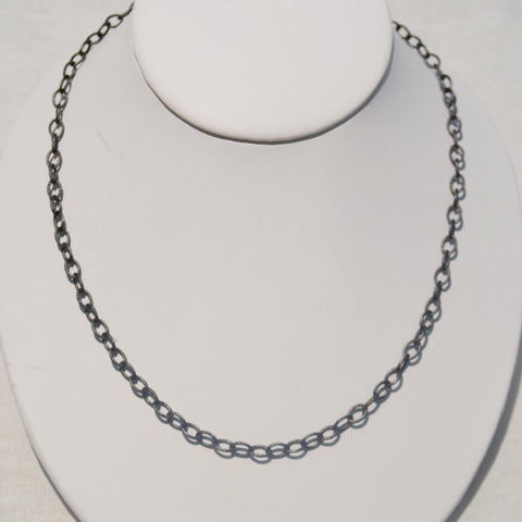 Oxidized Chain Necklace