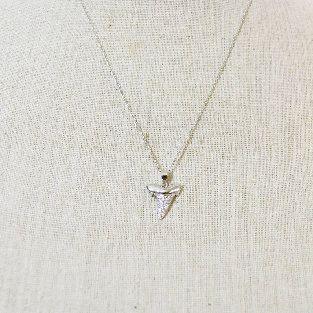 Sterling Shark Tooth Necklace