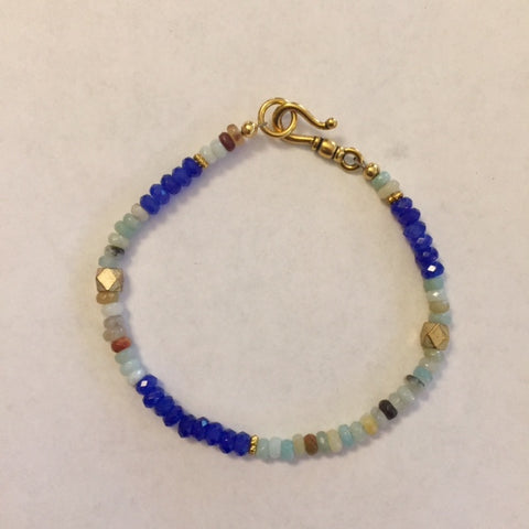 Faceted Agate bracelet