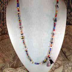 Ethnic Trade Bead Necklace