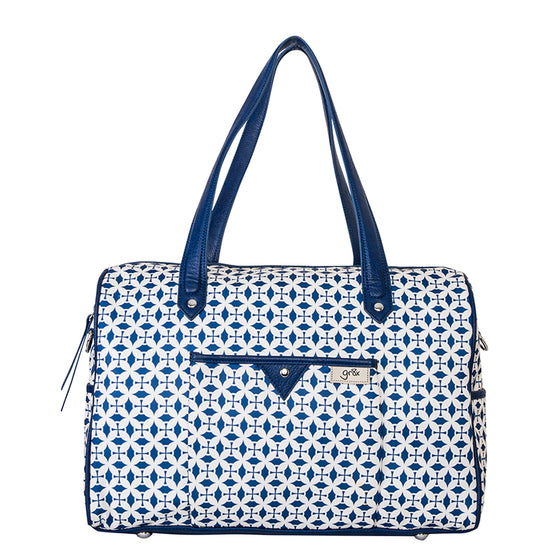 Wipe clean high quality nylon nappy and diaper bag