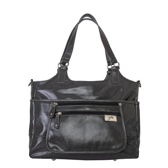 'Charlotte' Tote - Charcoal - gr8x