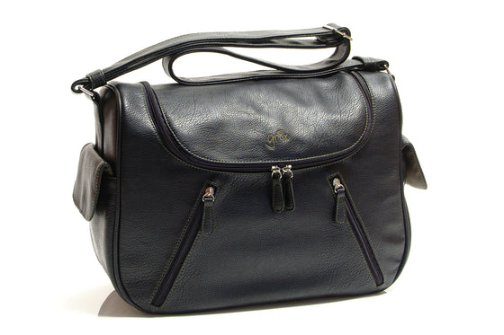 'Calypso' Satchel Black