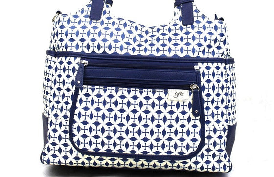 'Charlotte' Tote - Twilight Blue - gr8x