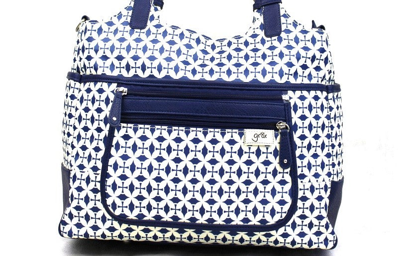 gr8x designer stylish and affordable wipe clean nylon and lightwight nappy bag