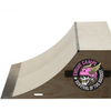 USED Wood Quarter Pipe