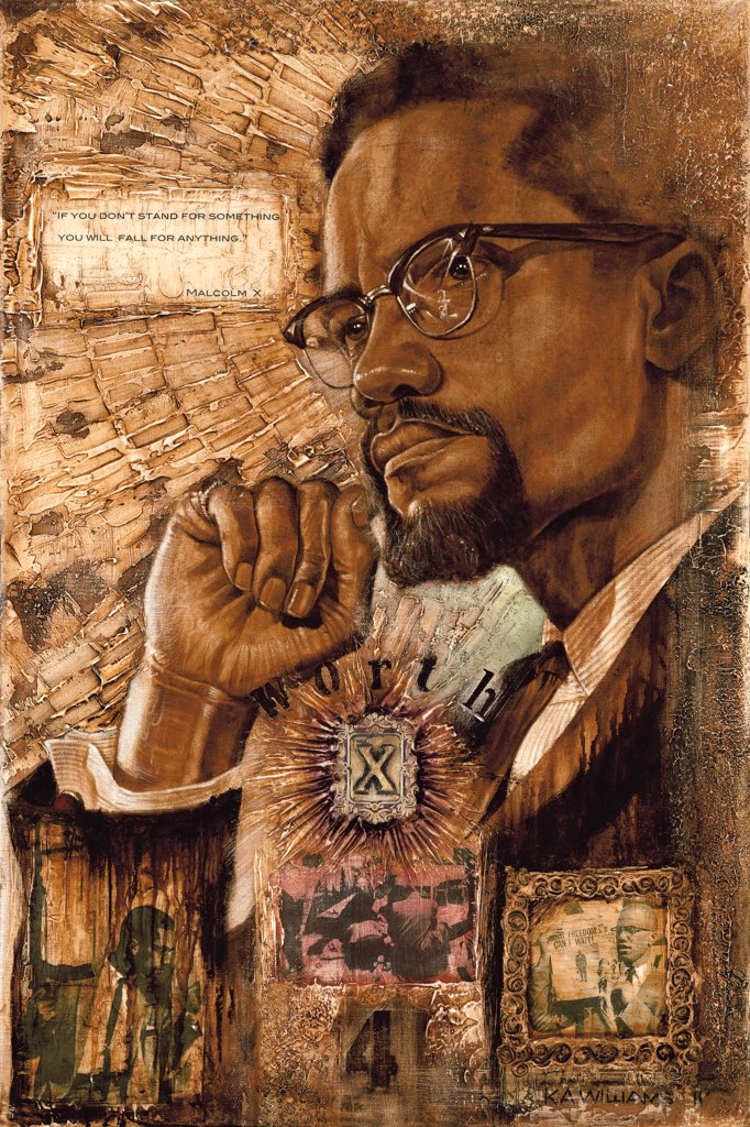 MALCOLM X- Worth Dying 4