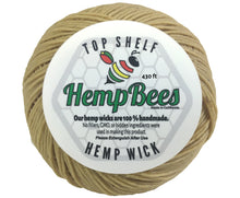 430 Ft Hemp Wick Spool