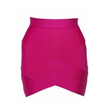 "MINI BANDAGE SKIRT - ""BRITNEY"", Skirts  - Barbee Doll Boutique"