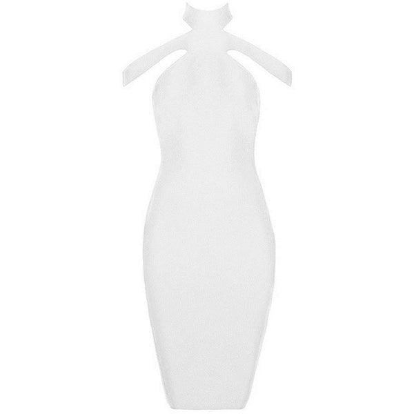 "MIDI BANDAGE DRESS - ""CALIFORNIA GIRL"", Bandage  - Barbee Doll Boutique"