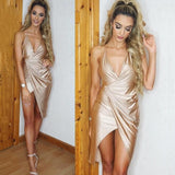 "SATIN MIDI DRESS - ""LIFE OF THE PARTY"", Dress  - Barbee Doll Boutique"