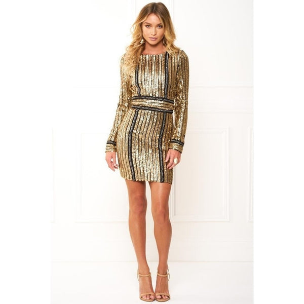 "SEQUIN MINI DRESS - ""VEGAS BOUND"", Dress  - Barbee Doll Boutique"