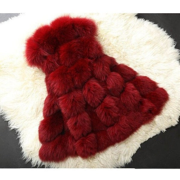 "FAUX FUR VEST - ""LUXIOUS"", Vest  - Barbee Doll Boutique"