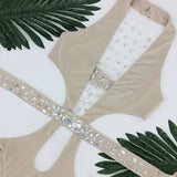 "RHINESTONE BODYSUIT - ""SEX GODDESS"", Bodysuit  - Barbee Doll Boutique"