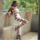 "2 PIECE BANDAGE JUMPSUIT - ""JELISABETH"", Jumpsuits  - Barbee Doll Boutique"