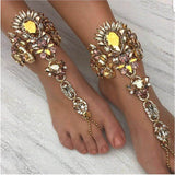 "ANKLE CHAIN JEWELRY - ""JEWELY"", Jewelry  - Barbee Doll Boutique"