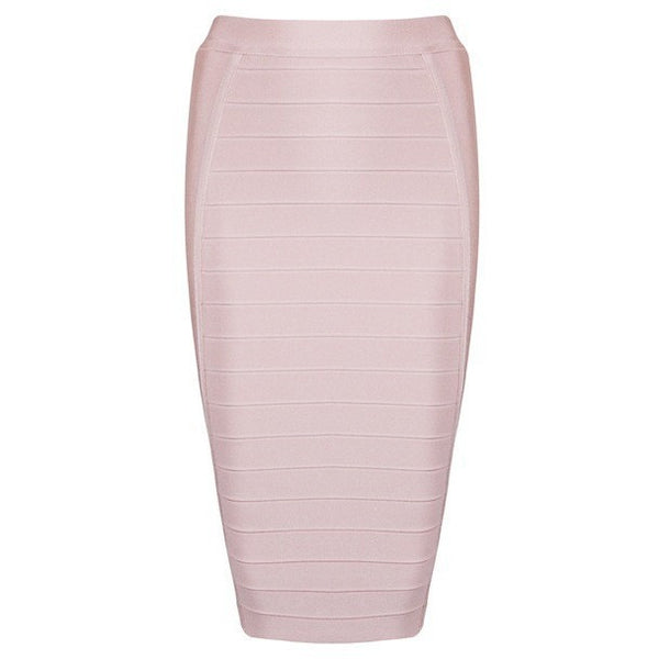 "MIDI BANDAGE SKIRT - ""KRISTEN"", Bandage  - Barbee Doll Boutique"