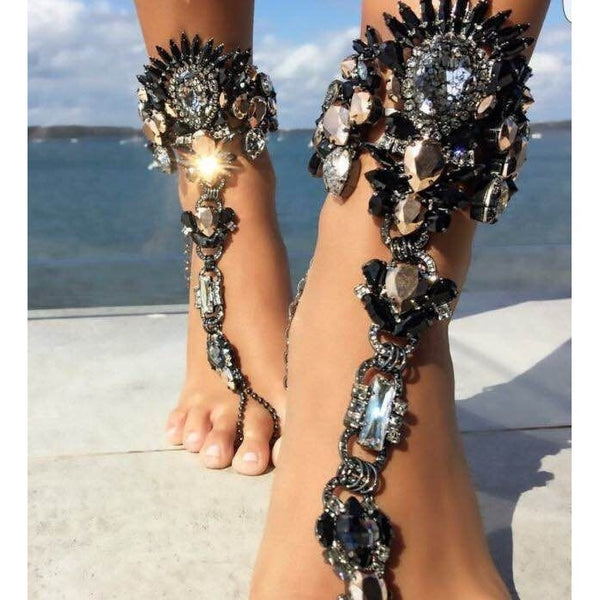 "ANKLE CHAIN JEWELRY - ""JEWELETTE"", Jewelry  - Barbee Doll Boutique"