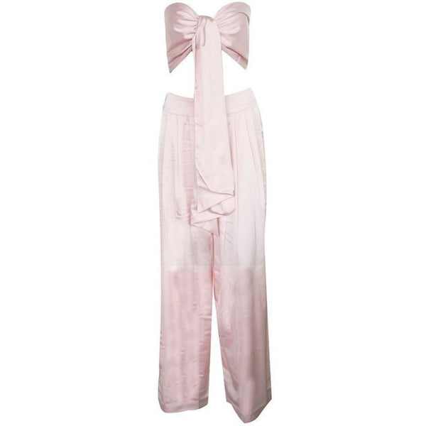"2 PIECE SATIN JUMPSUIT - ""ELIZABETH'S SECRET"", Jumpsuits  - Barbee Doll Boutique"