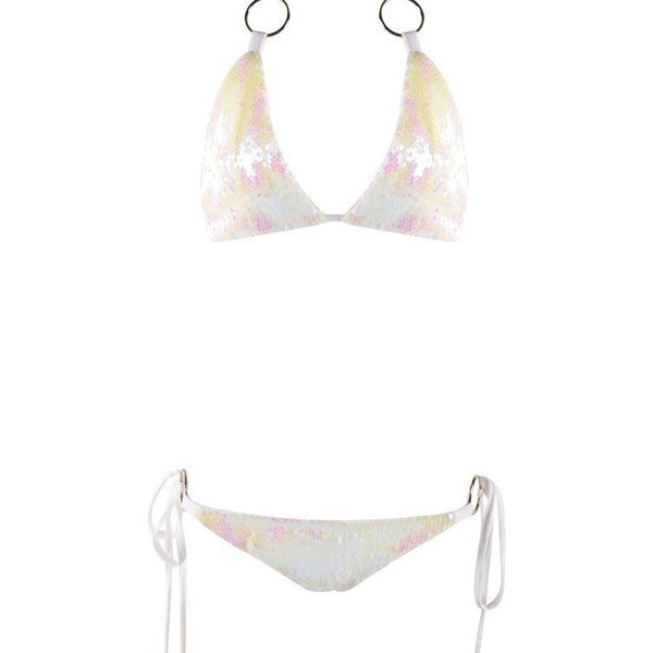 "SEQUIN STRING BIKINI - ""DIAMOND RUSH"", Bikini  - Barbee Doll Boutique"