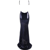 "SEQUIN MAXI EVENING GOWN - ""SPARKLING ROSE"", Evening  - Barbee Doll Boutique"