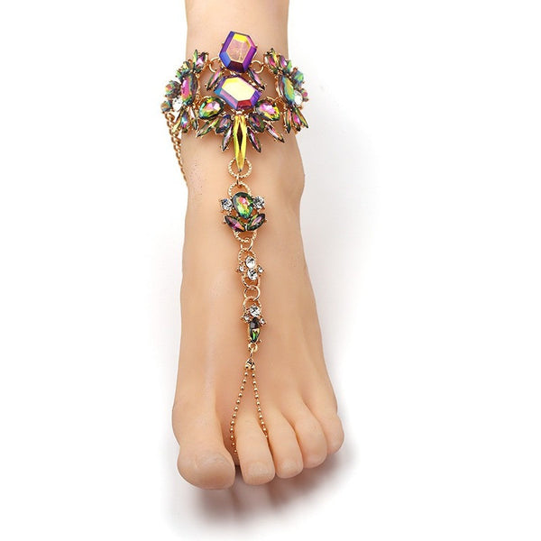 ANKLE CHAIN JEWELRY, Jewelry  - Barbee Doll Boutique