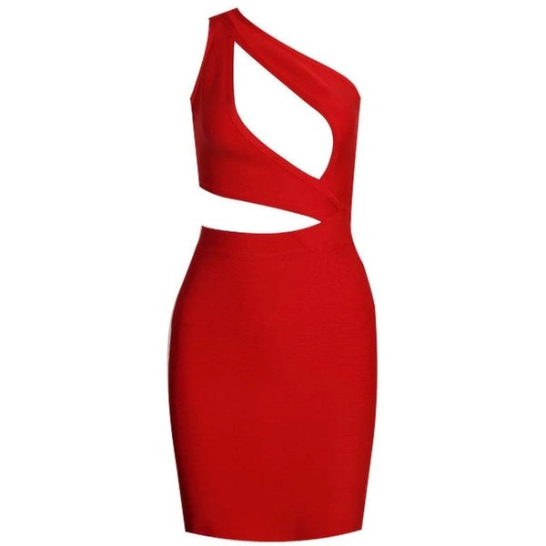 "MINI KEYHOLE BANDAGE DRESS - ""ESTRELLA"", Bandage  - Barbee Doll Boutique"