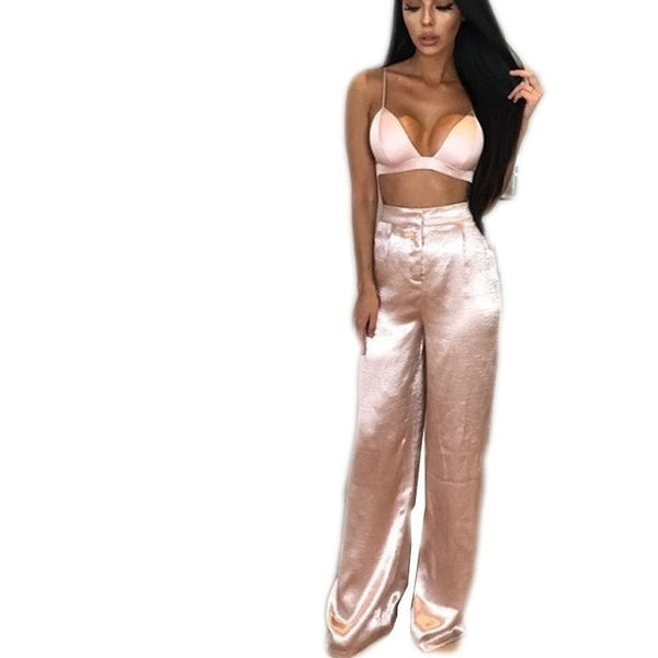 "2 PIECE SATIN JUMPSUIT - ""PERSIAN PRINCESS"", 2 Piece  - Barbee Doll Boutique"