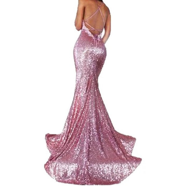 "SEQUIN MERMAID EVENING GOWN - ""GLAMOUR PRINCESS"", Evening  - Barbee Doll Boutique"