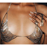 "RHINESTONE BRA BIKINI JEWELRY - ""SISILEY"", Jewelry  - Barbee Doll Boutique"